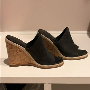 Sigerson Morrison Leather Wedges